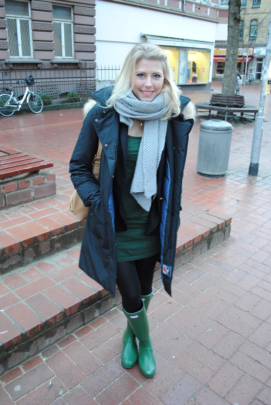 Ootd Hunter Gummistiefel Oh Wunderbar Blog Family Fashion Lifestyle Travel
