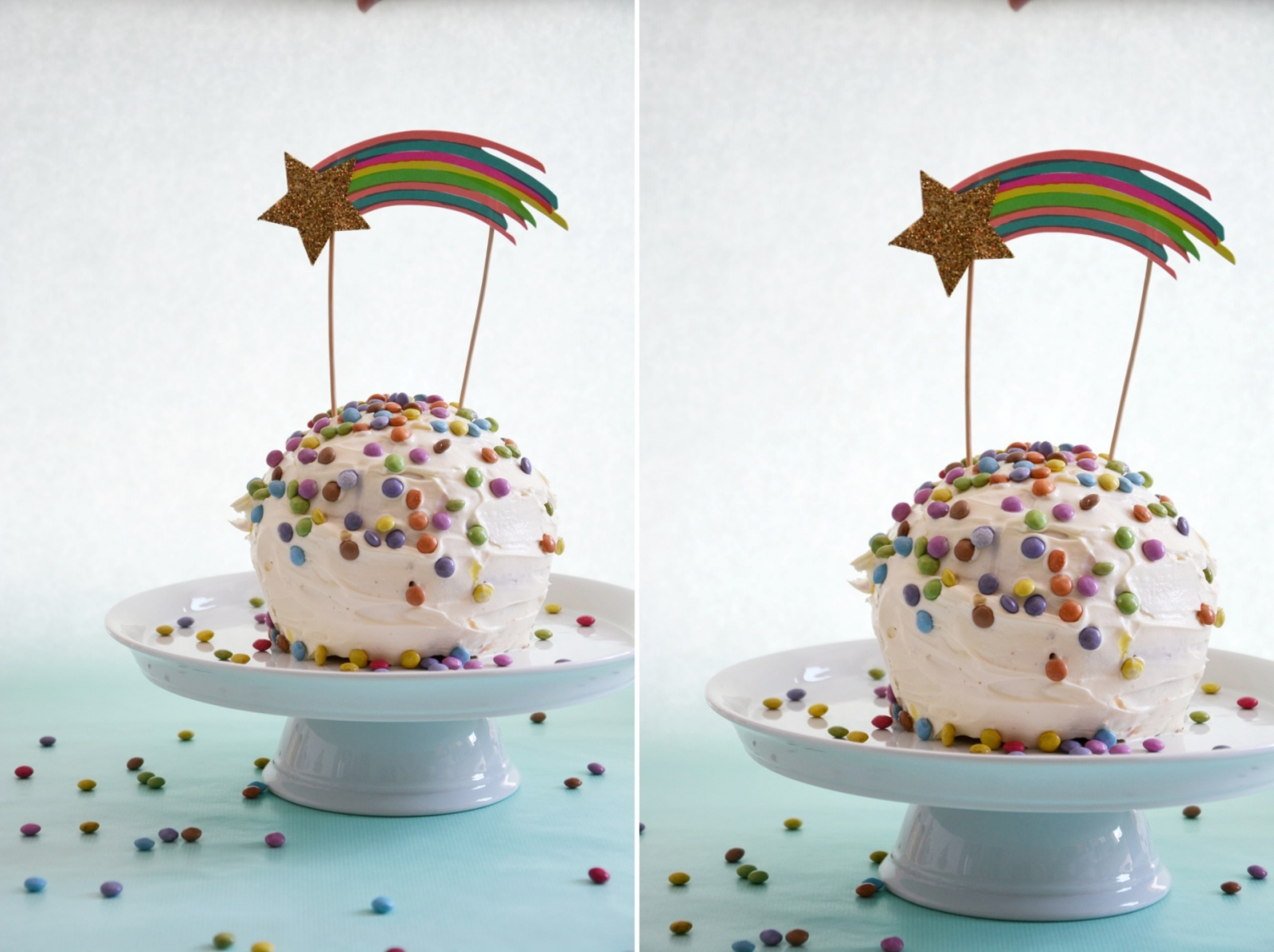 Piñata Torte