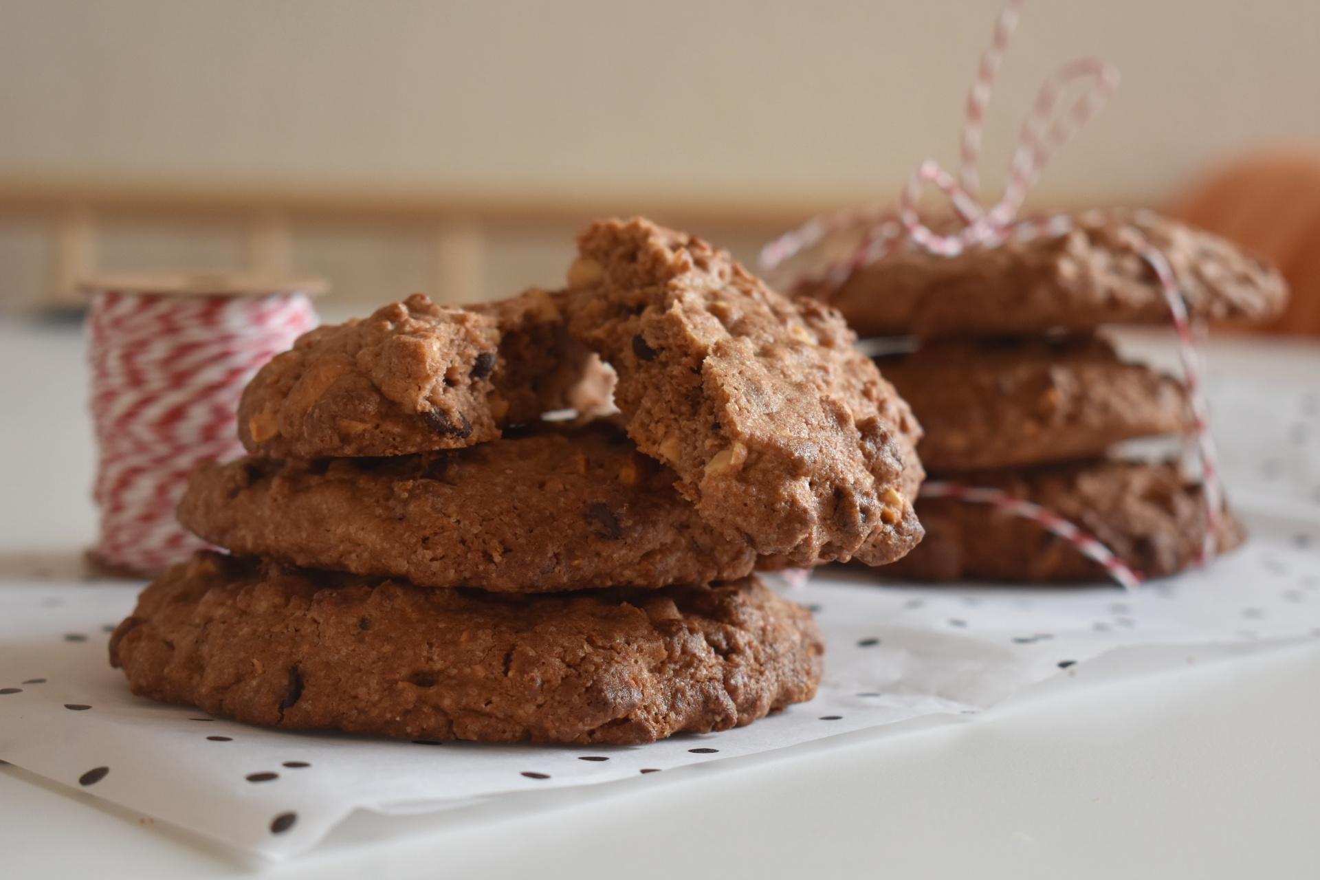 Erdnuss Schoko Cookie