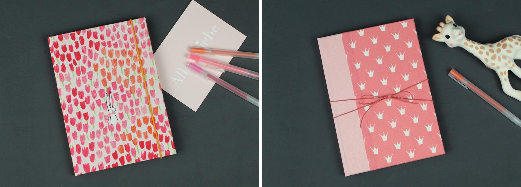 Tagebuch Baby, Scatoli, Buch, Handmade