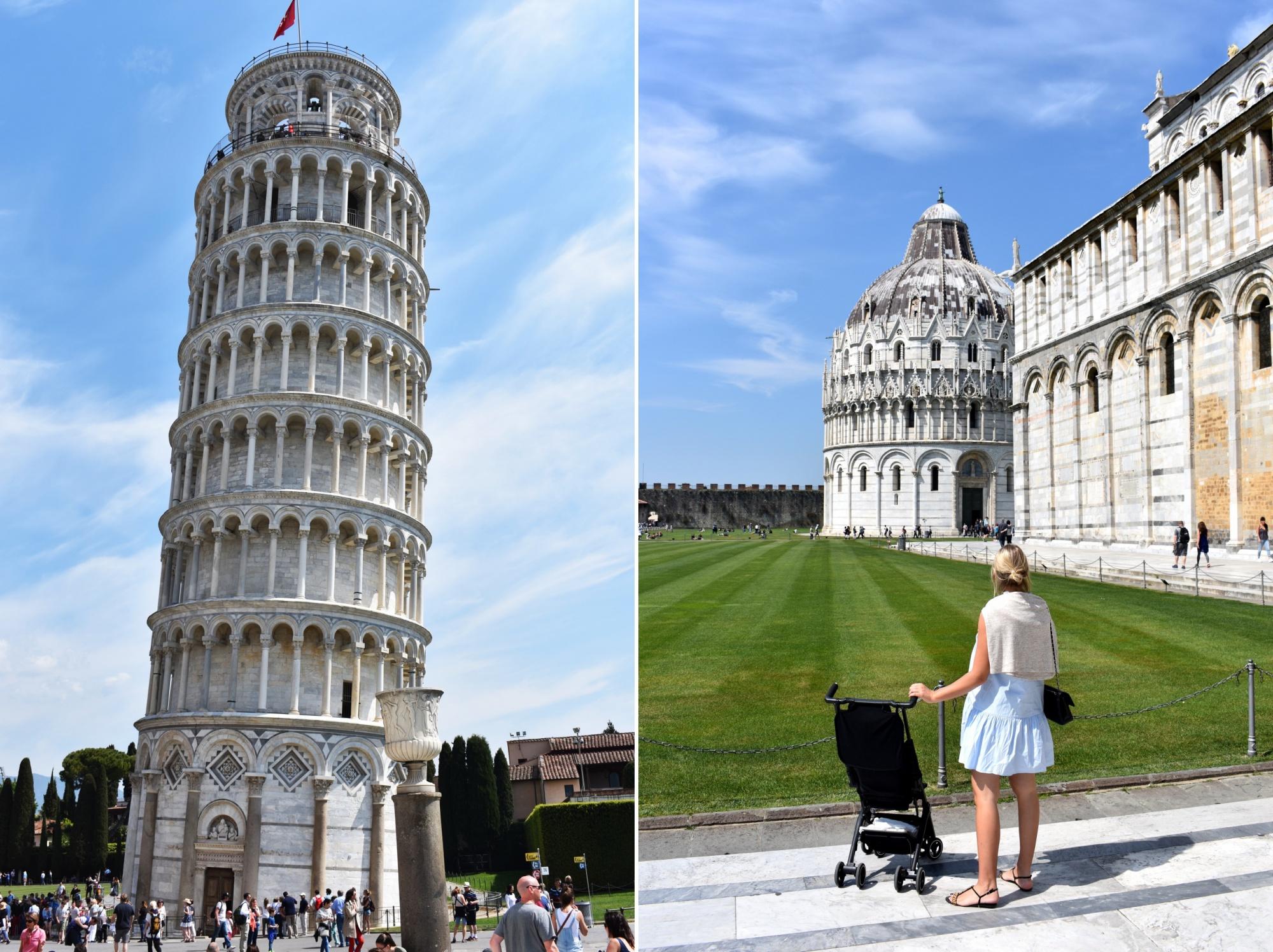 Reisen mit Kind, Toskana, Pisa