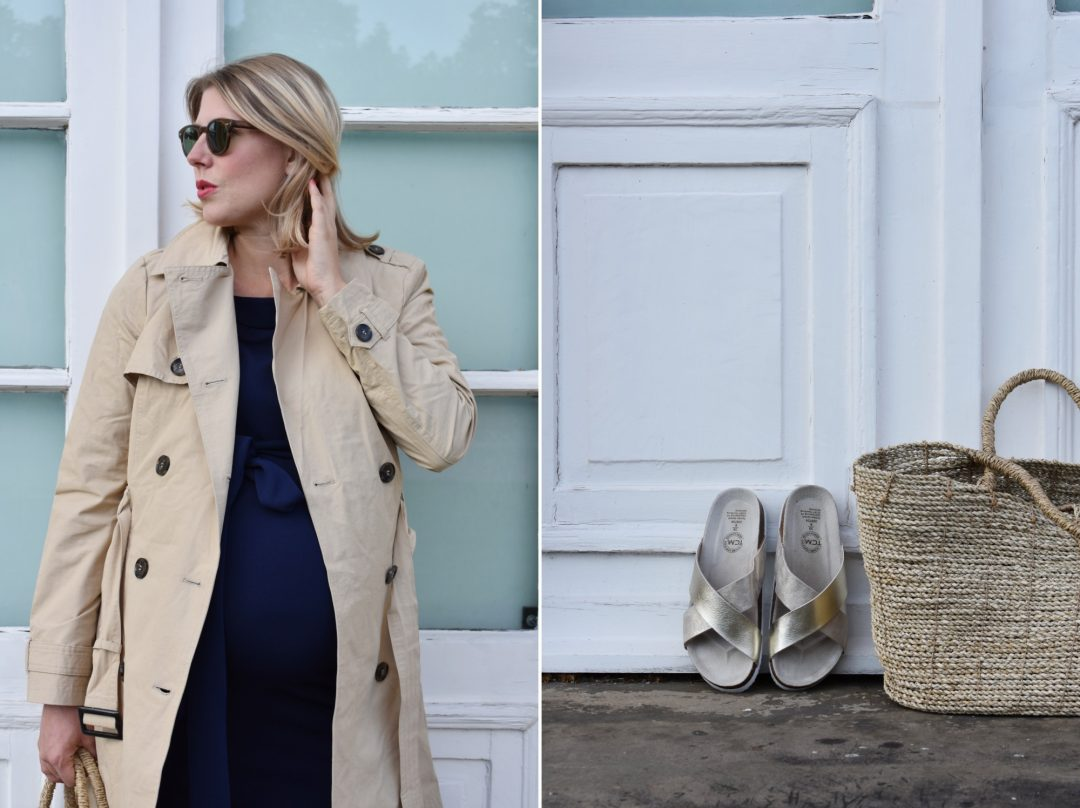 Outfitpost, Trenchcoat, Asos Maternity,