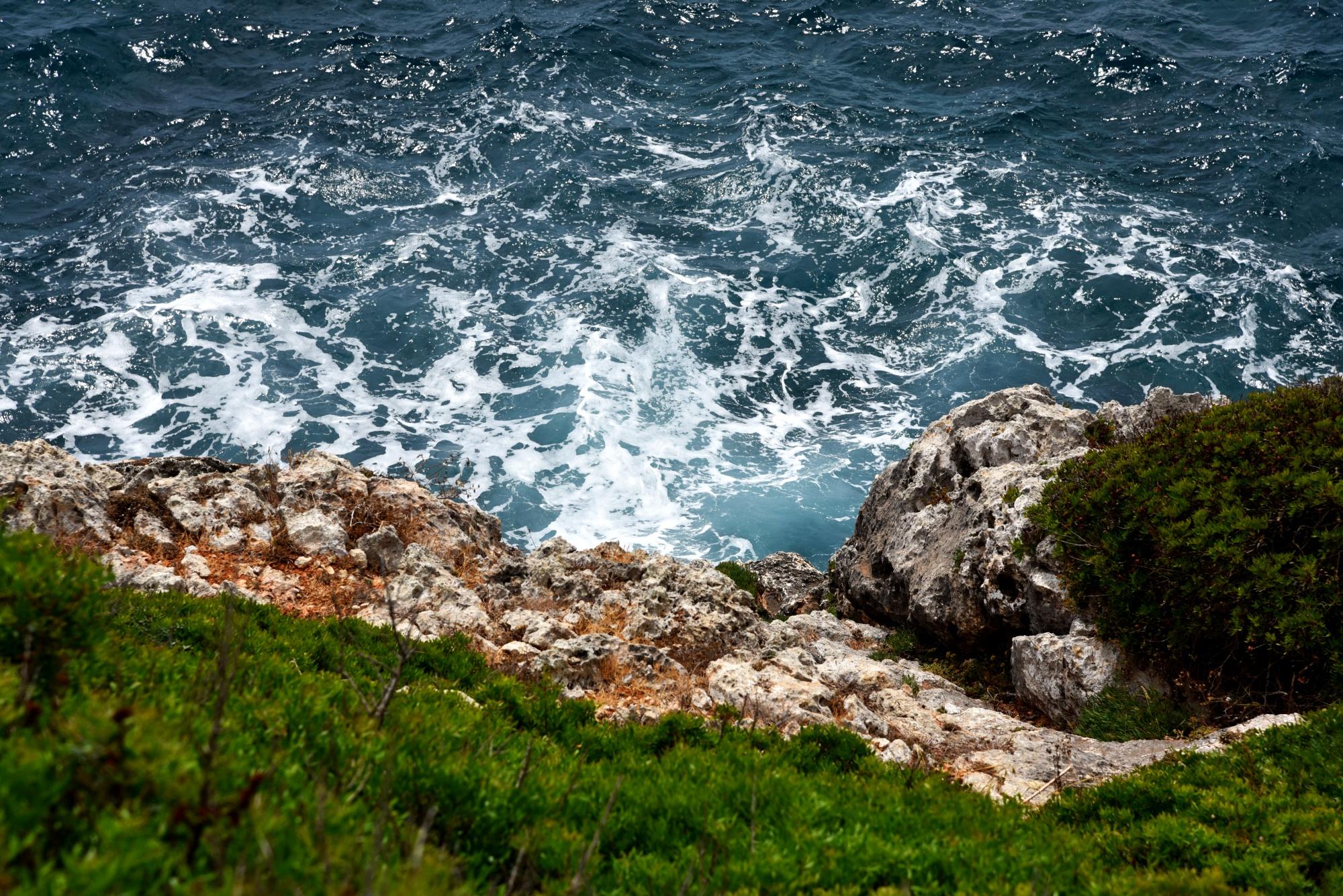 Porto Cristo, Mallorca, Steilküste Mallorca