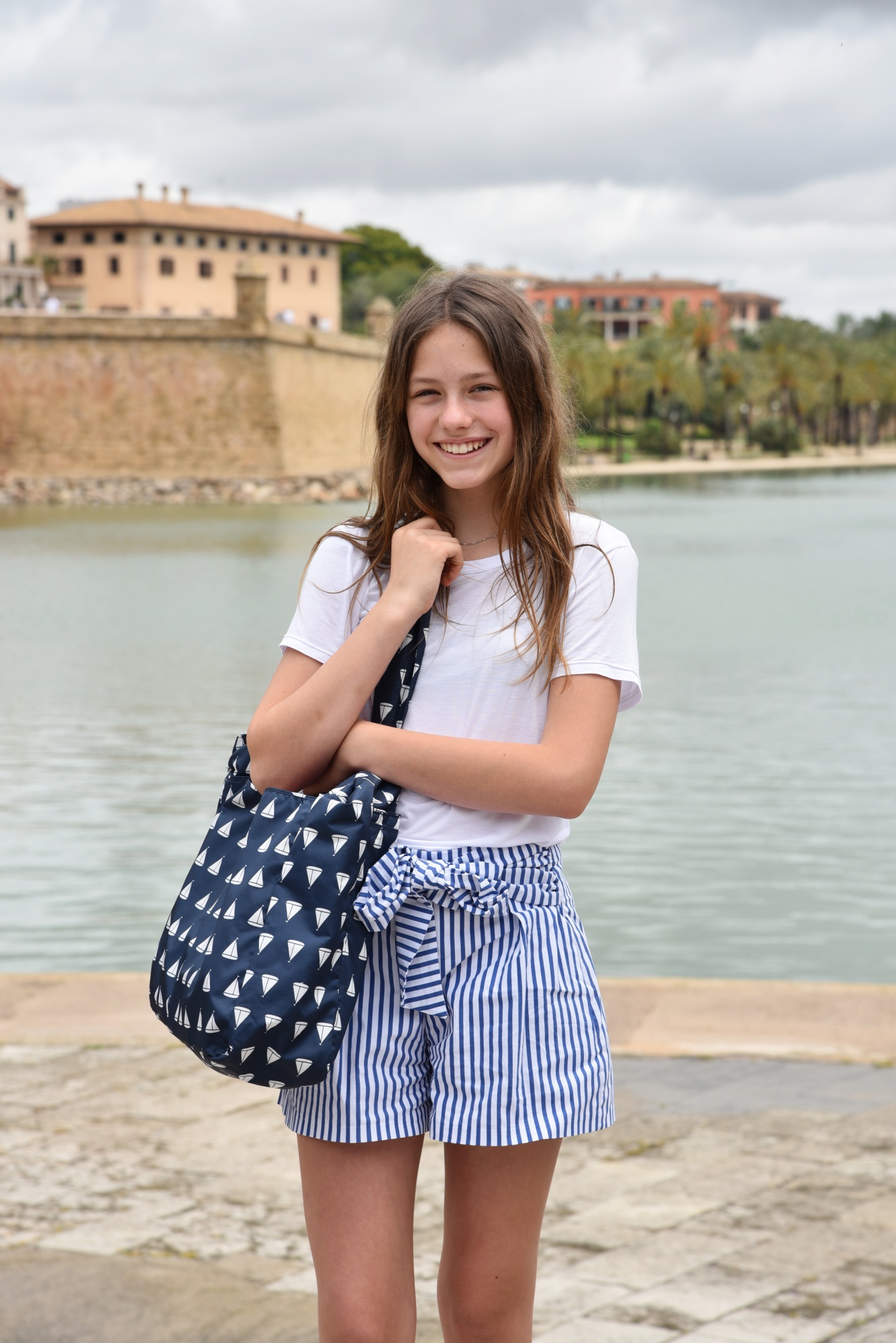 OUTFIT | EIN MARITIMER LOOK IN PALMA | TEEN FASHION - Oh ...