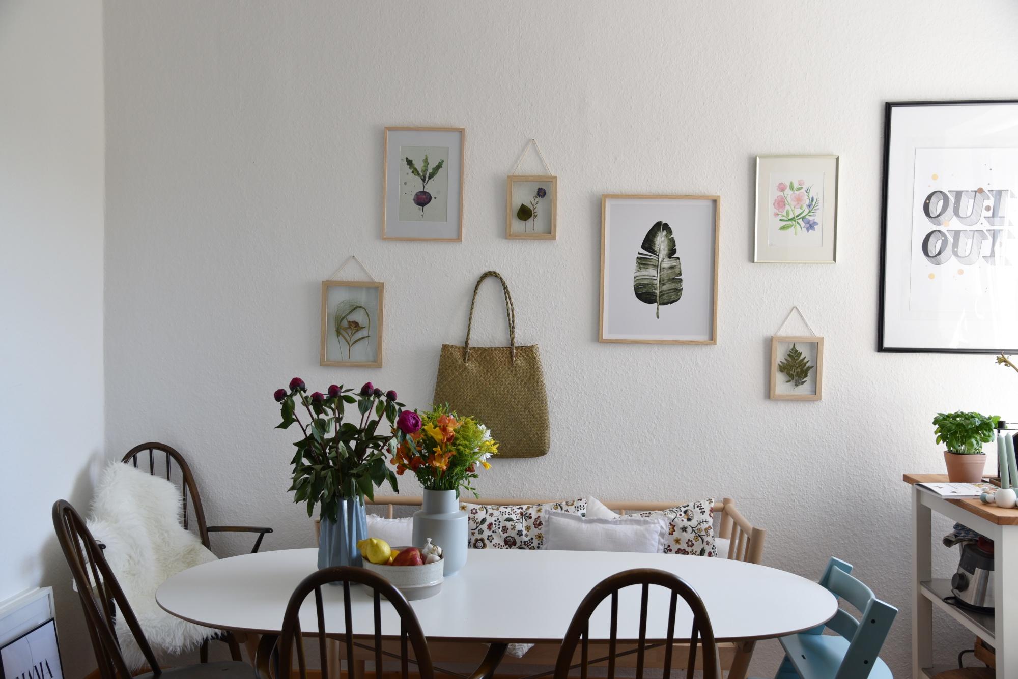 DIY, Blüten pressen, Deko Ideen