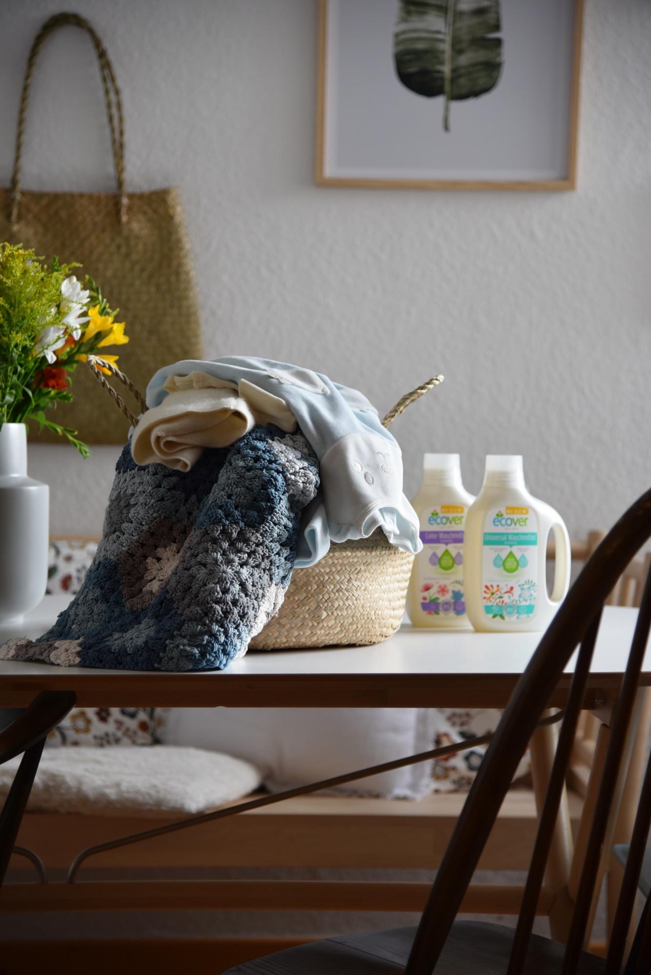 gesundes Waschmittel, Mamablog