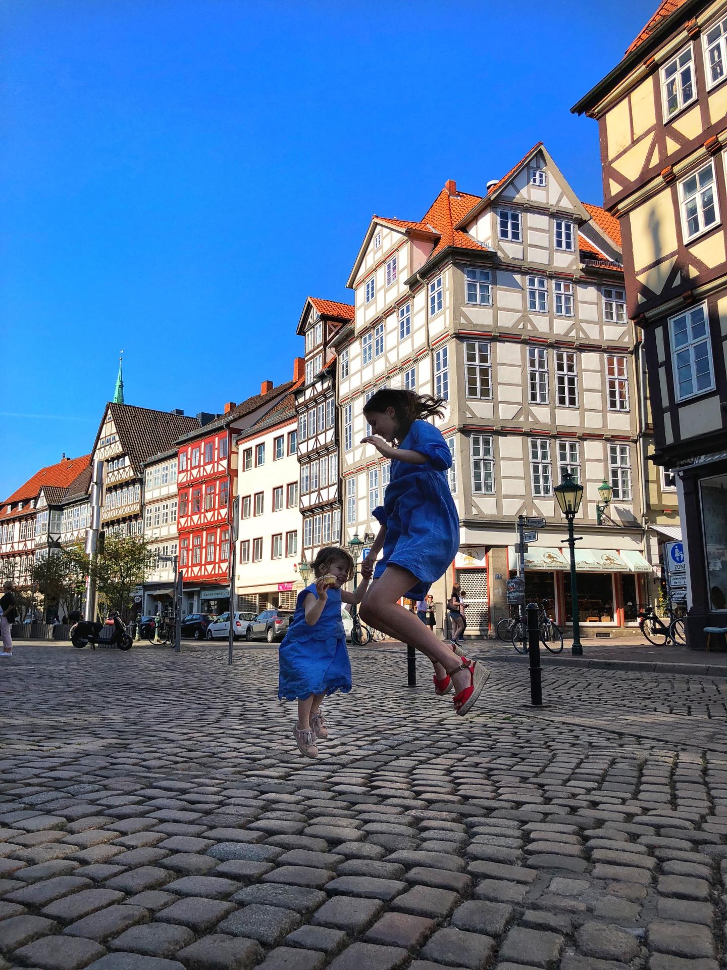 Hannover mit Kind