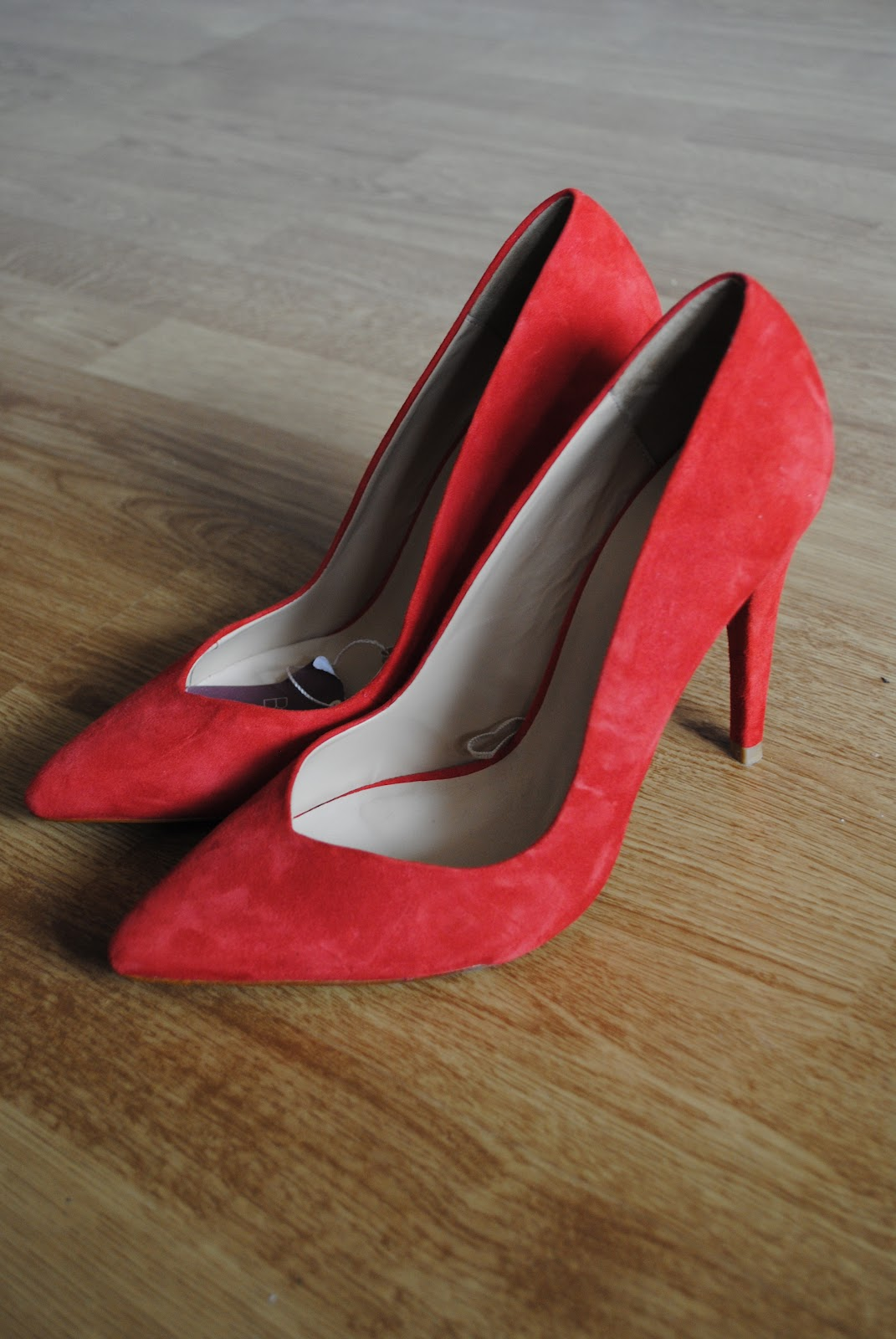 every woman needs a pair of red shoes