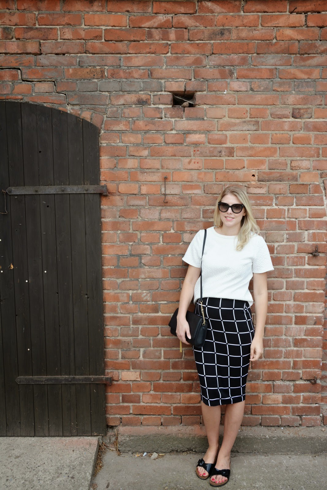Outfit: BABY BUMP UPDATE & PENCIL SKIRT LOVE