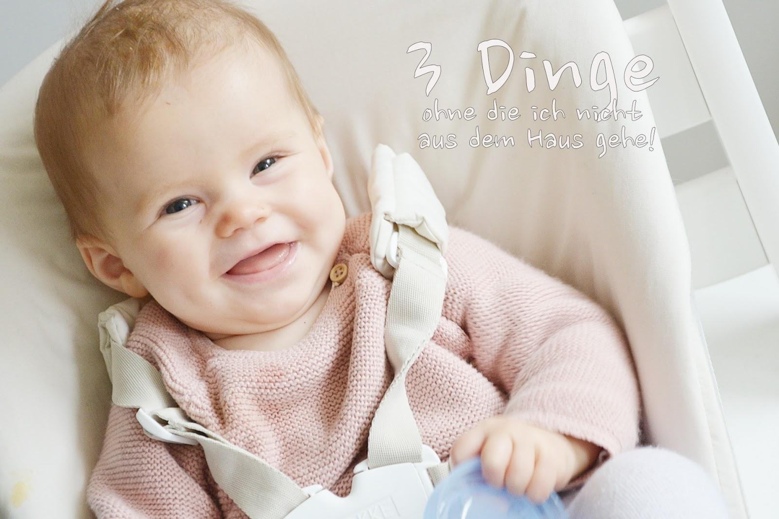 Leben mit Baby: DREI DINGE, OHNE DIE ICH NICHT AUS DEM HAUS GEHE ...