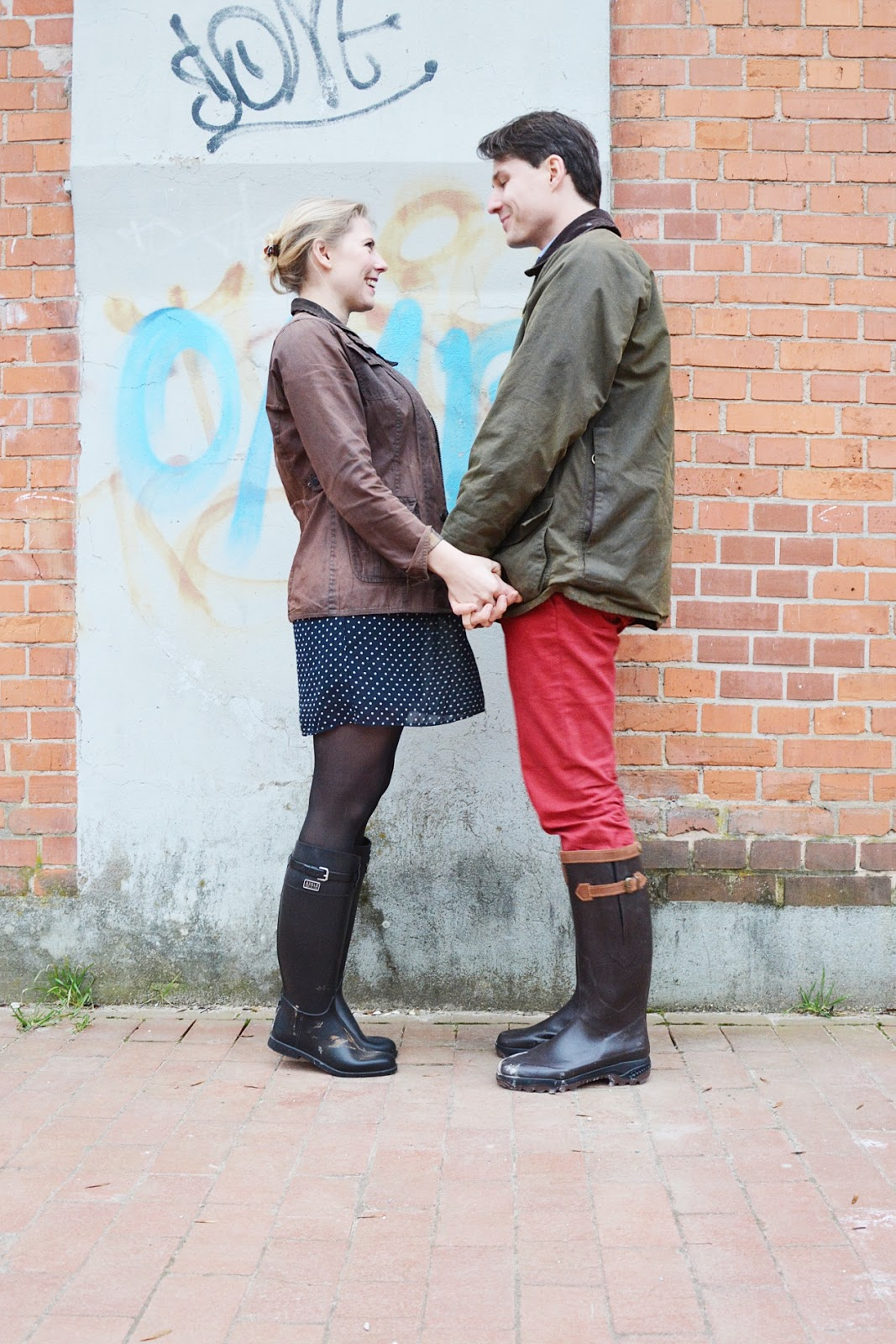on sale e207b 44eb4 Outfit: HAND IN HAND IN AIGLE UND BARBOUR - Oh Wunderbar ...