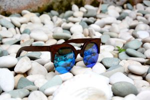 GUFO ITALY Sonnenbrille Holz