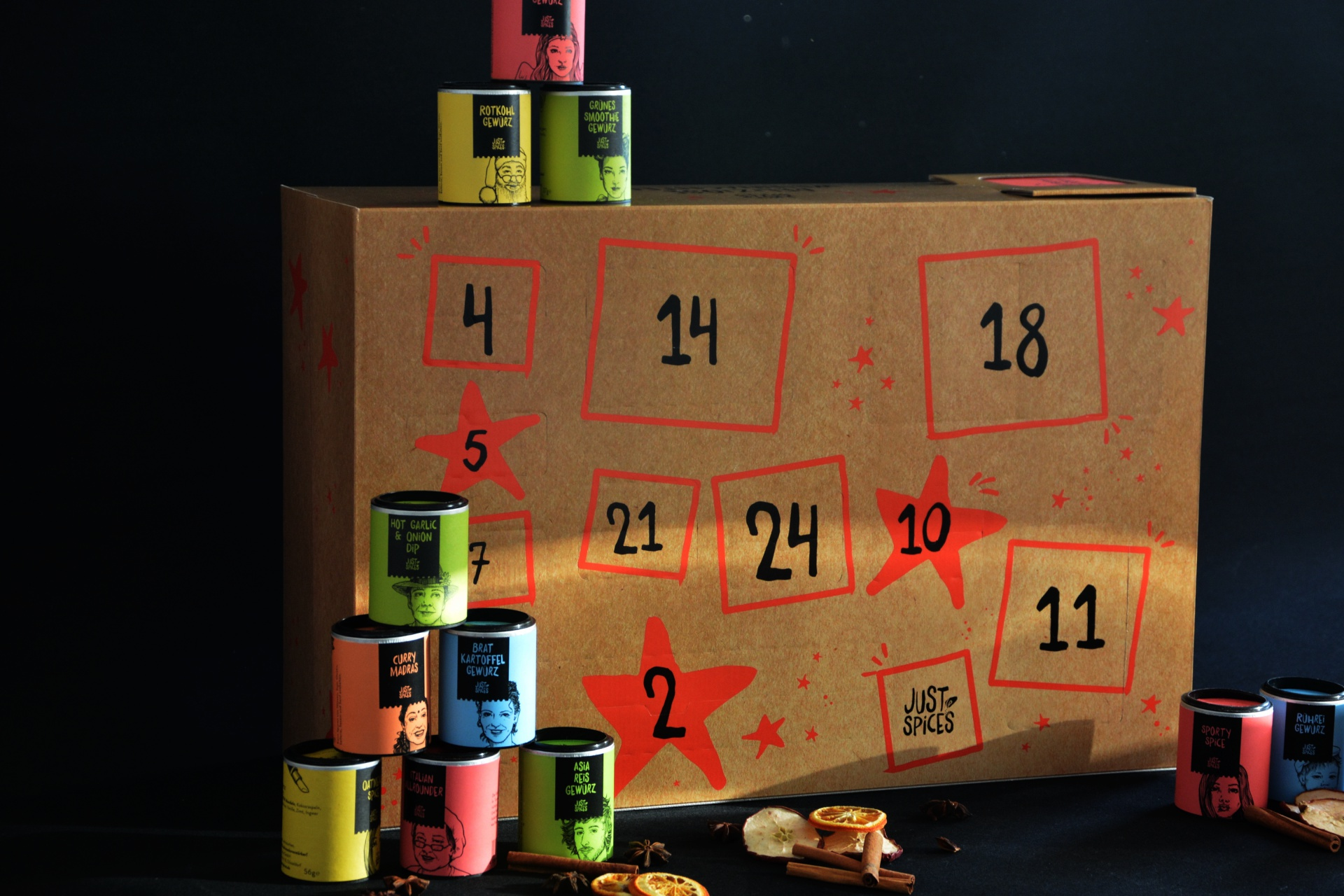 Adventskalender Just Spices