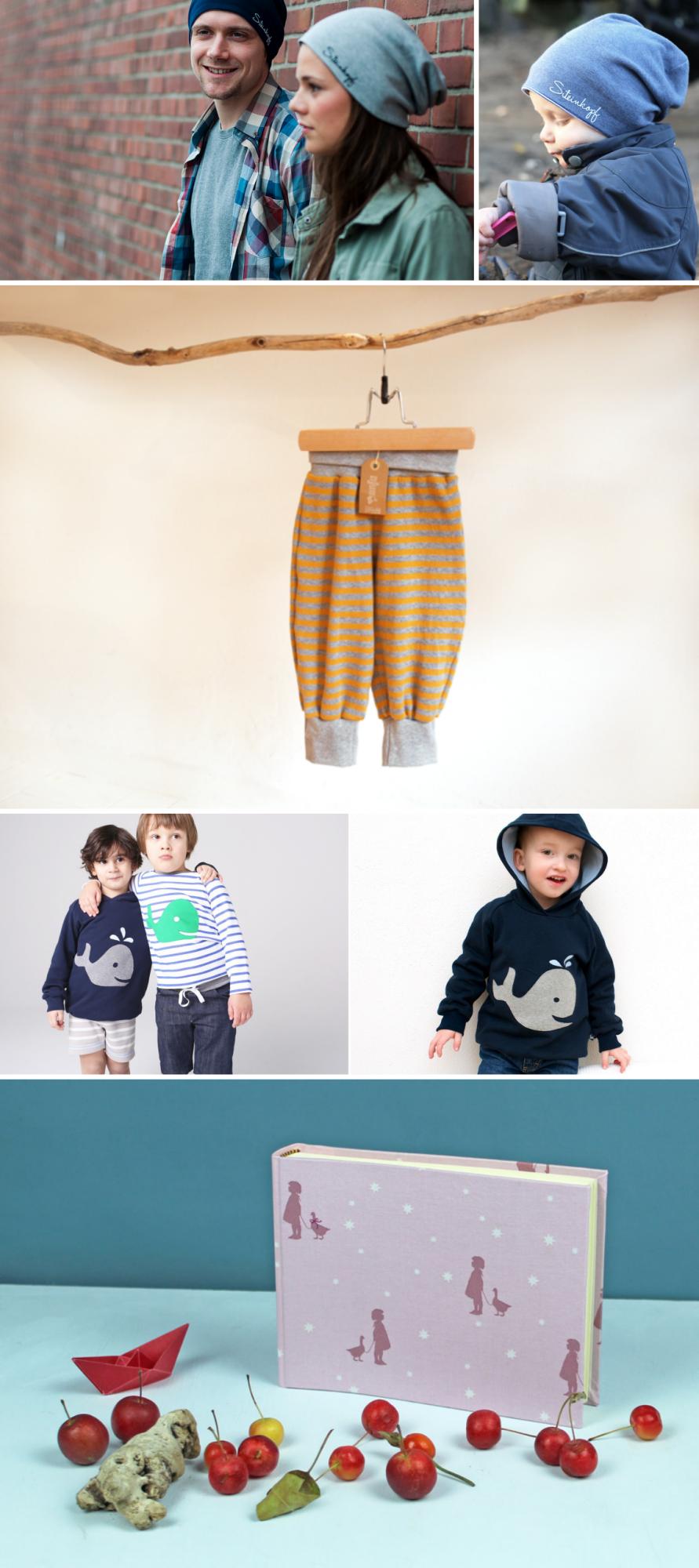 Handmachte Kinderkleidung