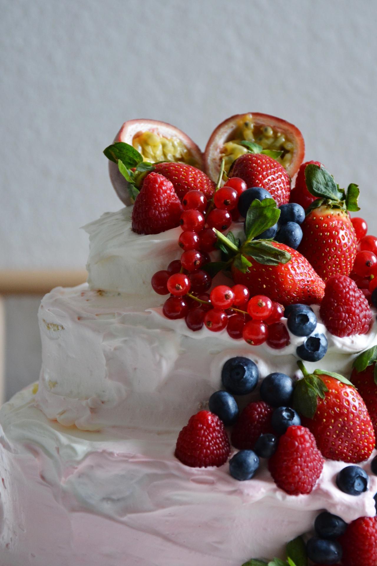 Rezept Fur Ombre Naked Cake Hochzeitstorte Selbst Gemacht