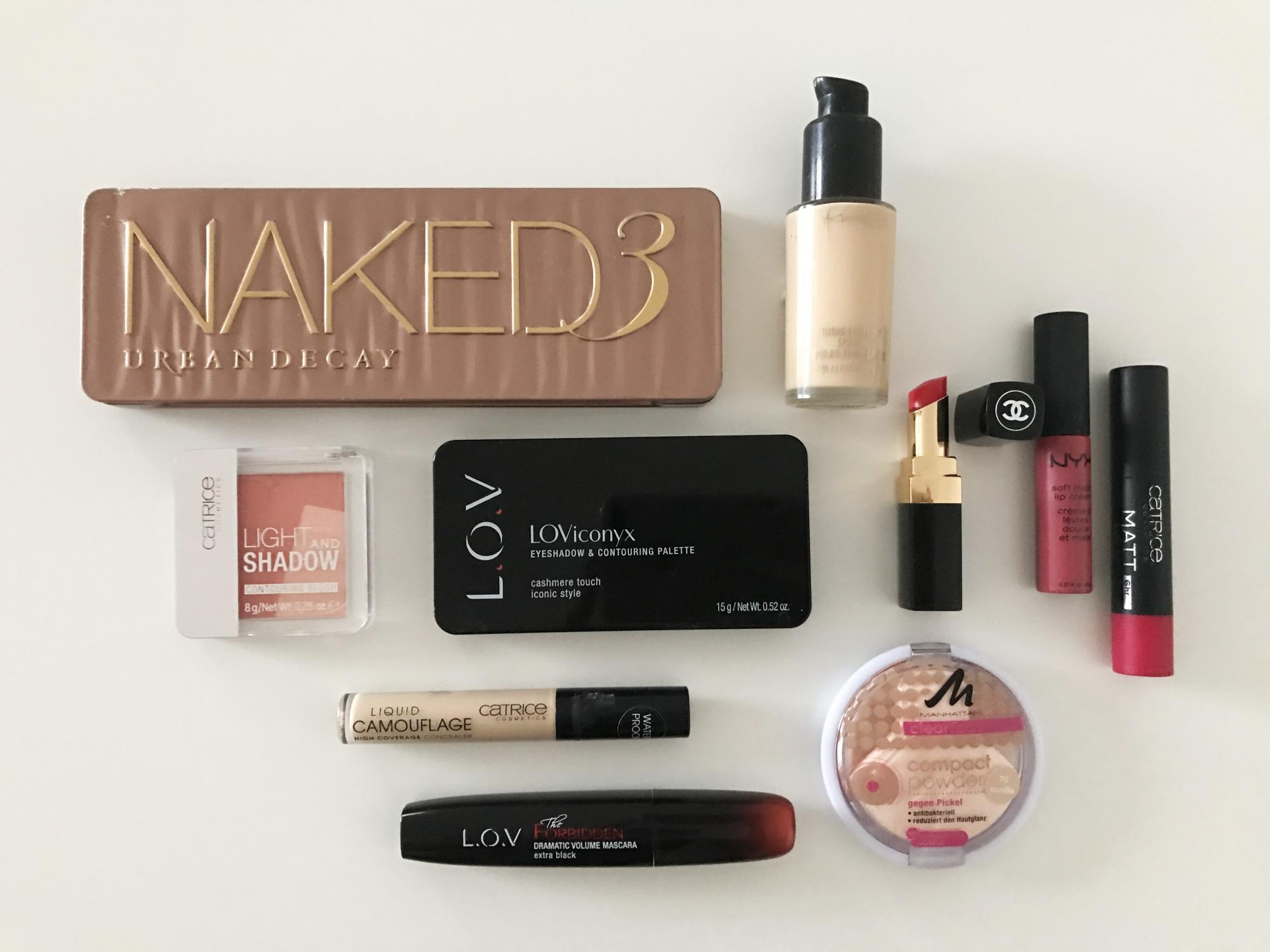 Make-up Routine im Alltag