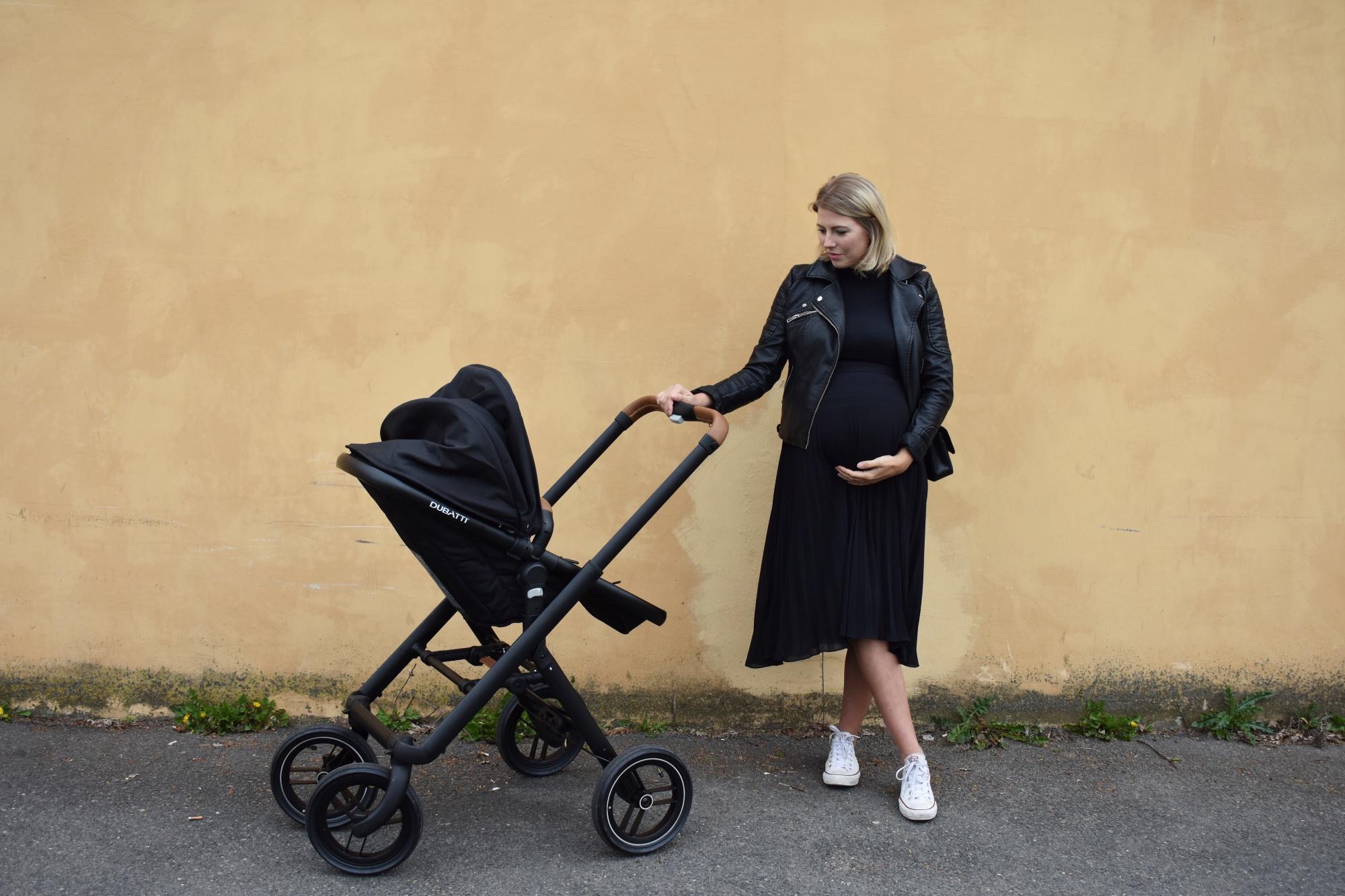 Kombi Kinderwagen, Dubatti, Schwangerschaft, Umstandsmode