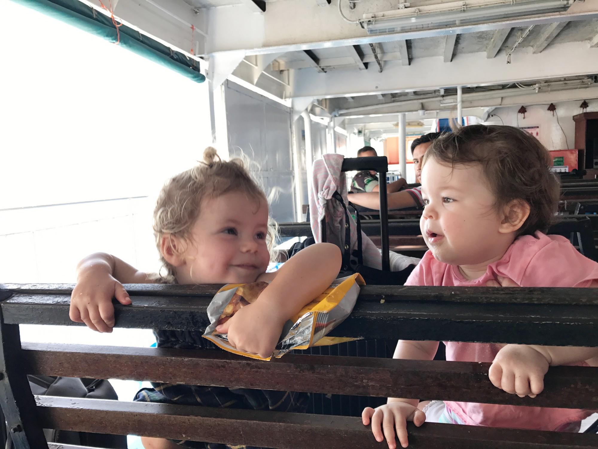 Lombok, Bali, Public Ferry,