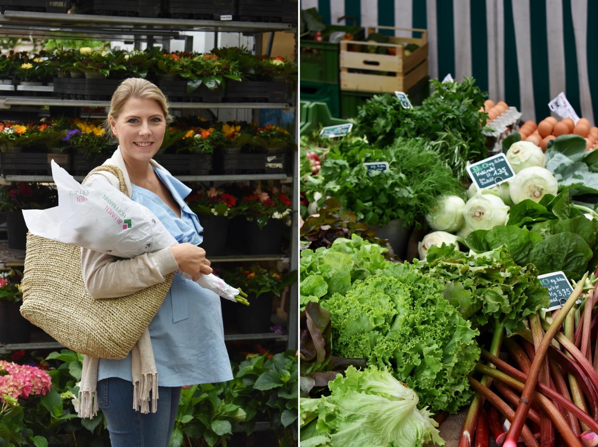 Wochenmarkt, Regional und Saisonal