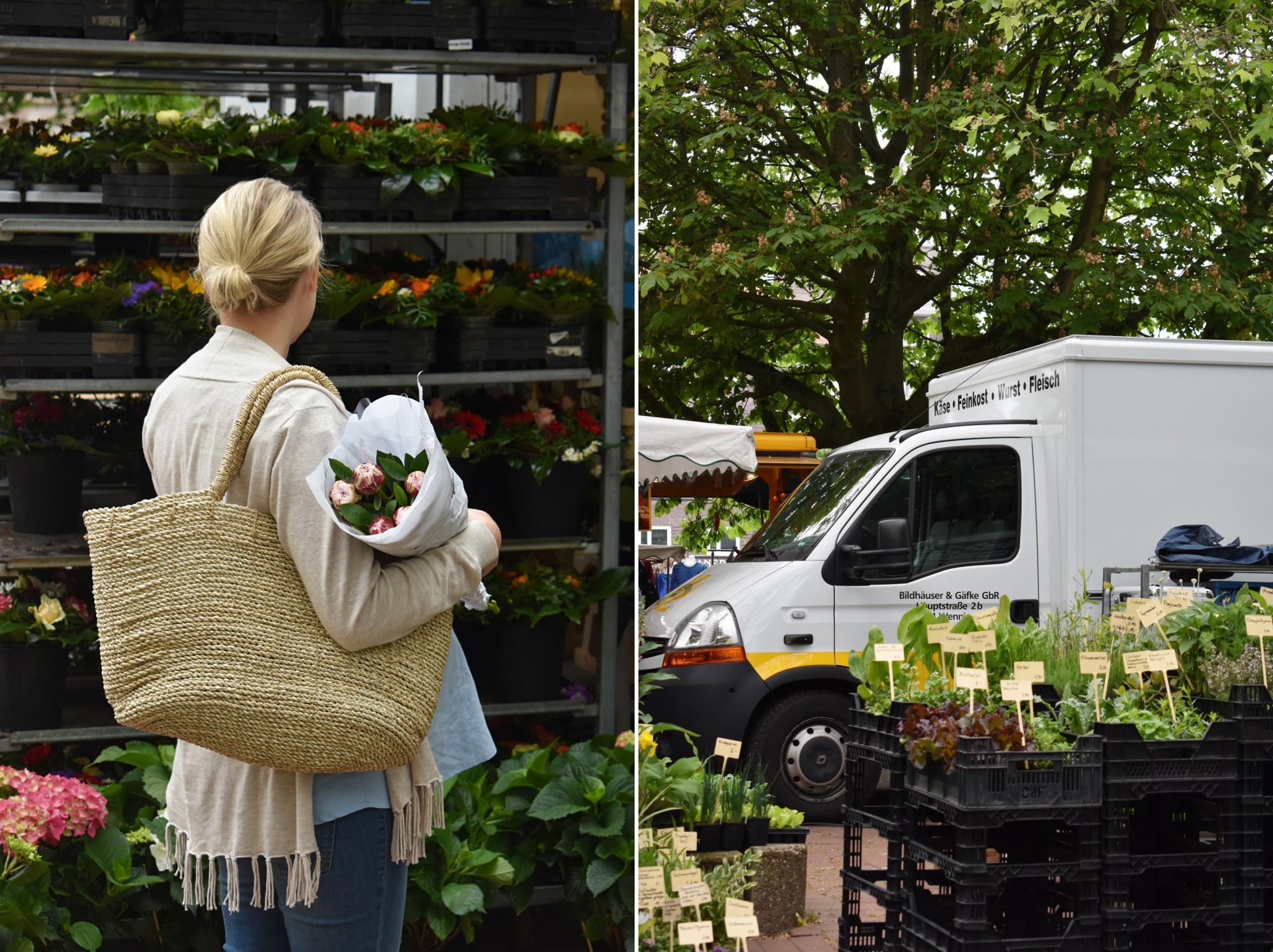 Wochenmarkt, FMA, regional einkaufen, saisonal einkaufen
