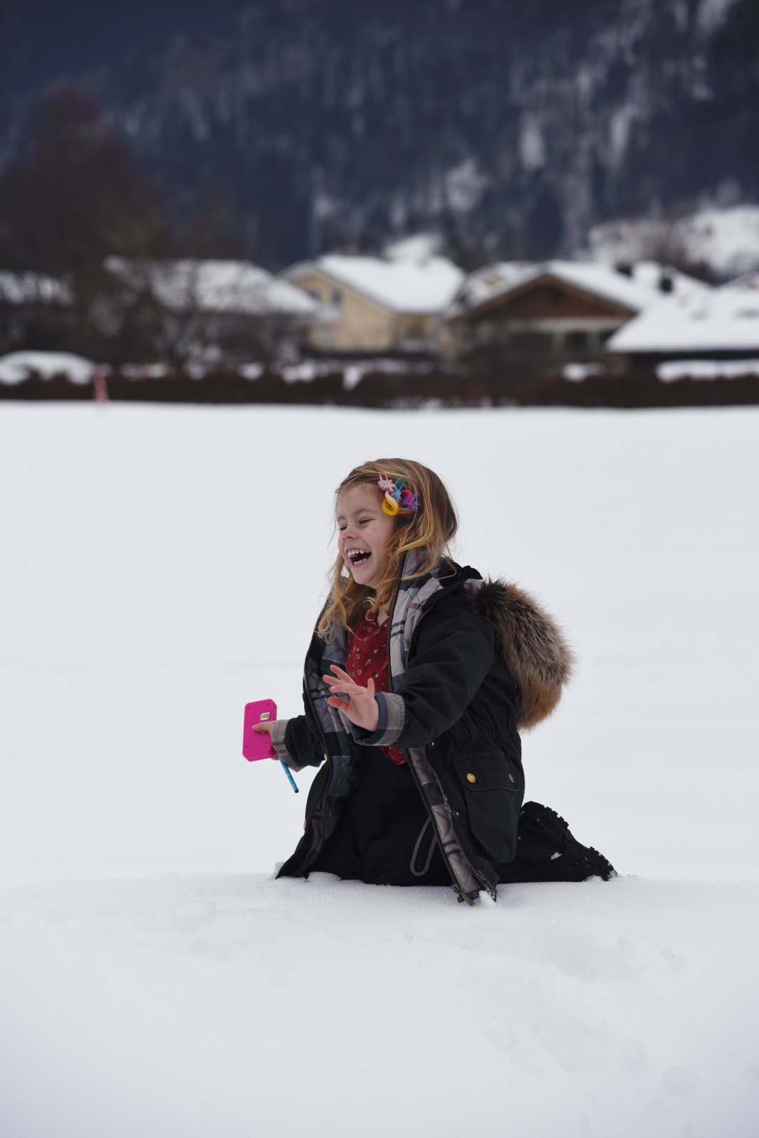 Winterurlaub mit Kind