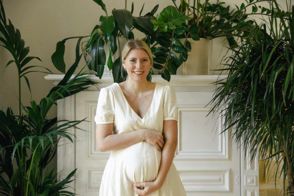 plötzlich ein bisschen schwanger
